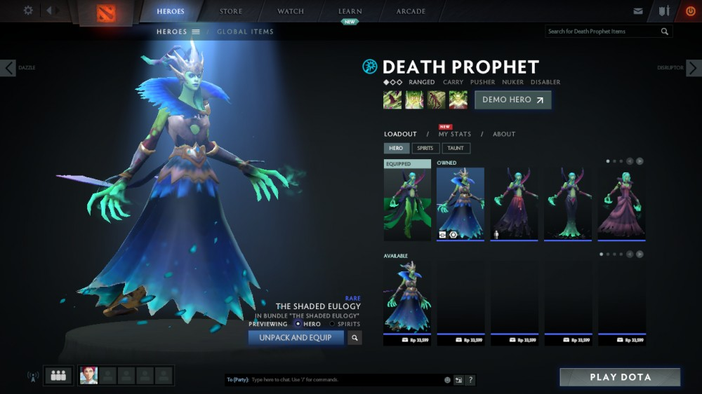 The Shaded Eulogy (Death Prophet Set)