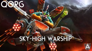 Inscribed Sky-High Warship (Gyrocopter Set)