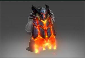 Mantle of the Cinder Baron (Immortal Axe)