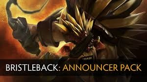 Bristleback (Announcer Pack)