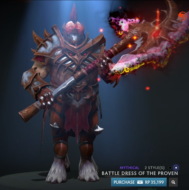 Infused Battle Dress of the Proven (Centaur Set)