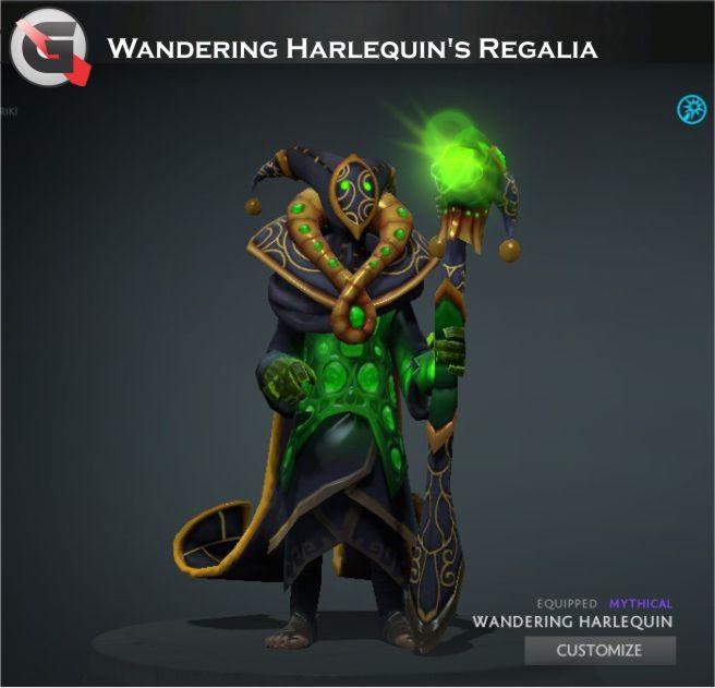 Wandering Harlequin's Regalia (Rubick Set)