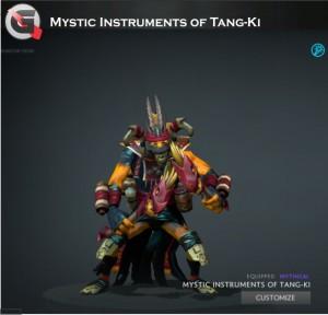 Mystic Instruments of Tang-Ki (Shadow Shaman Set)