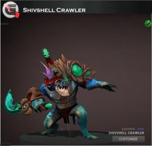 Shivshell Crawler (Slark Set)