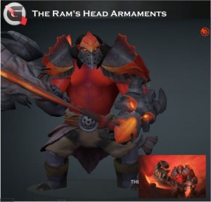The Ram's Head Armaments (Axe Set)