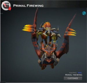 Primal Firewing (Batrider Set)