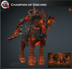 Champion of Discord (Chaos Knight Set)