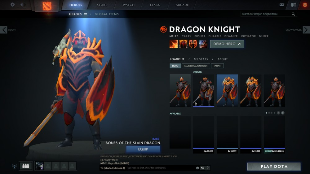 Bones of the Slain Dragon (Dragon Knight Set)