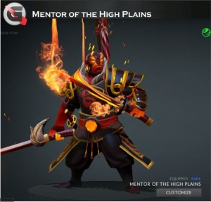 Mentor of the High Plains (Ember Spirit Set)