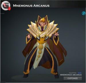 Mnemonus Arcanus (Invoker Set)