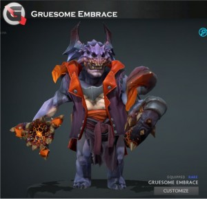 Gruesome Embrace (Lion Set)