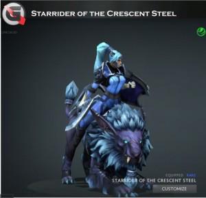 Starrider of the Crescent Steel (Luna Set)