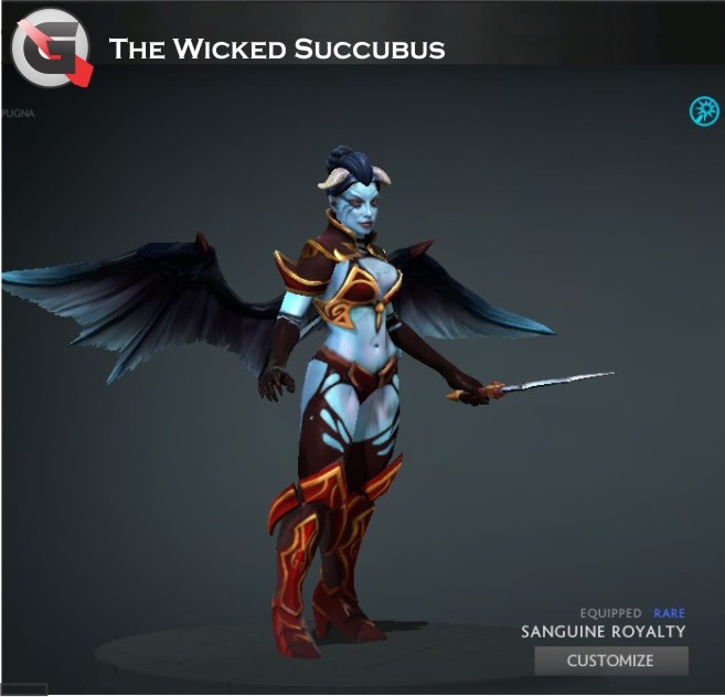 Wicked Succubus (Queen of Pain Set)