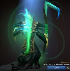 Inscribed Sullen Hollow (Immortal Necrophos)
