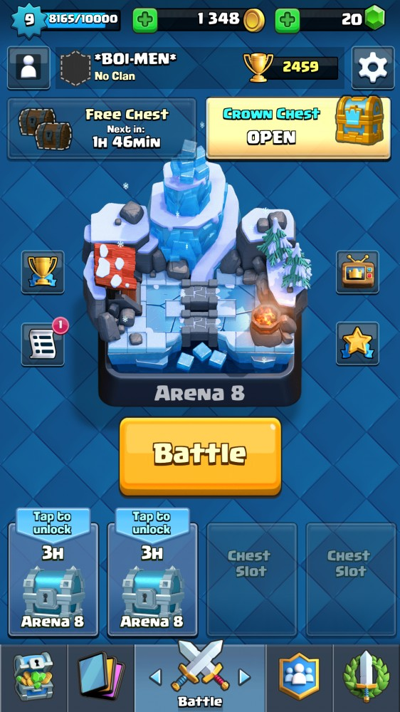 CR DUO LEGEND LVL 9 TROPHY 2459