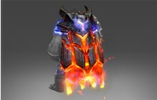 Mantle of the Cinder Baron 2 style (Immortal Axe)