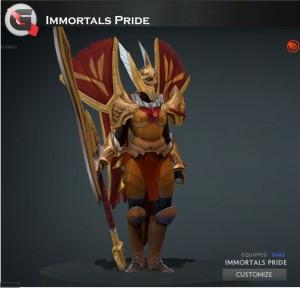 Immortals Pride (Legion Commander Set)