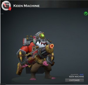 Keen Machine (Sniper Set)