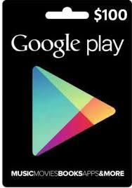 Google Play Gift Card – USD $100