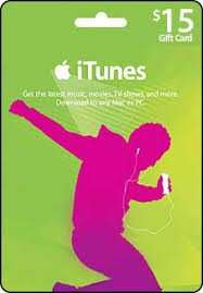 iTunes Gift Card US $15
