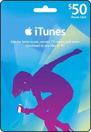 iTunes Gift Card US $50