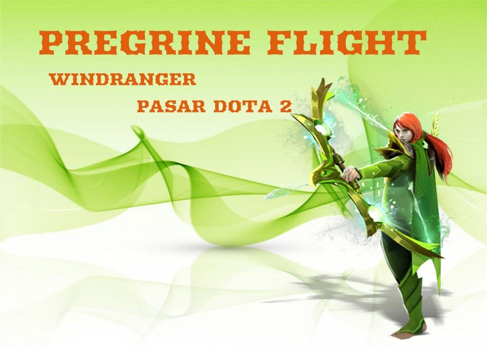 Peregrine Flight (Immortal Windranger)