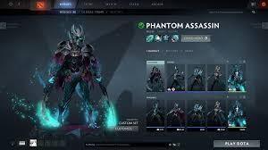 Jual Mix Set Phantom Assassin (Arcana + Bloodroot) game ...