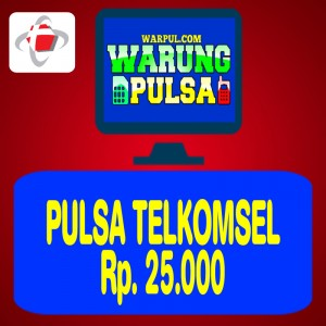 Pulsa Regular Telkomsel 25.000