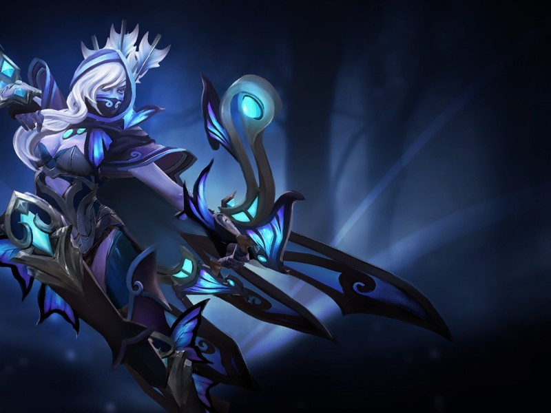 Guise of the Winged Bolt (Drow Ranger Set)