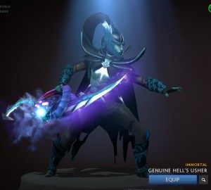 Genuine Hell's Usher (Immortal Phantom Assassin)