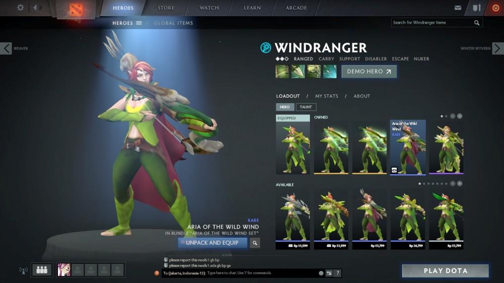 Aria of the Wild Wind (Windranger Set)