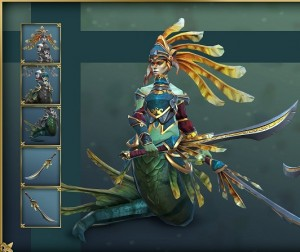 Naga Siren KnightSet Bundle
