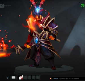 Rekindled Ashes (Ember Spirit Set)