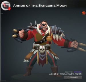 Armor of the Sanguine Moon Set (Lycan Set)
