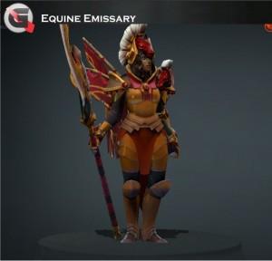 Equine Emissary (Legion Commander Set)