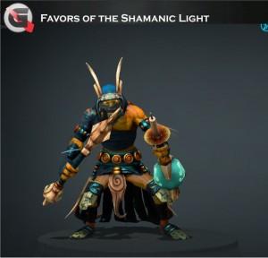 Favors of the Shamanic Light (Shadow Shaman Set)