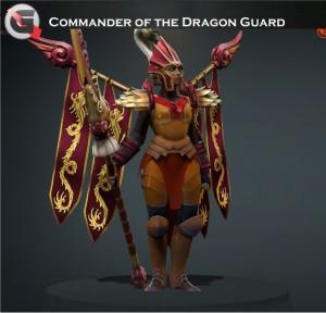 Commander of the Dragon Guard Set (Legion Commander Set)