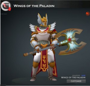 Wings of the Paladin Set (Omniknight Set)