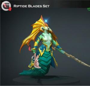 Riptide Blades (Naga Siren Set)