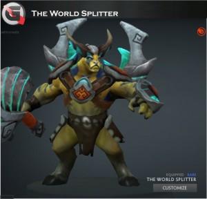 The World Splitter (Elder Titan Set)