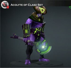 Acolyte of Clasz (Faceless Void Set)