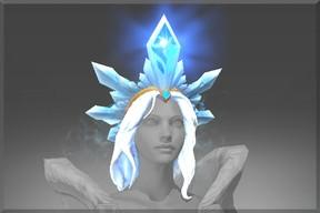 Inscribed Yulsaria's Glacier (Immortal Crystal Maiden)