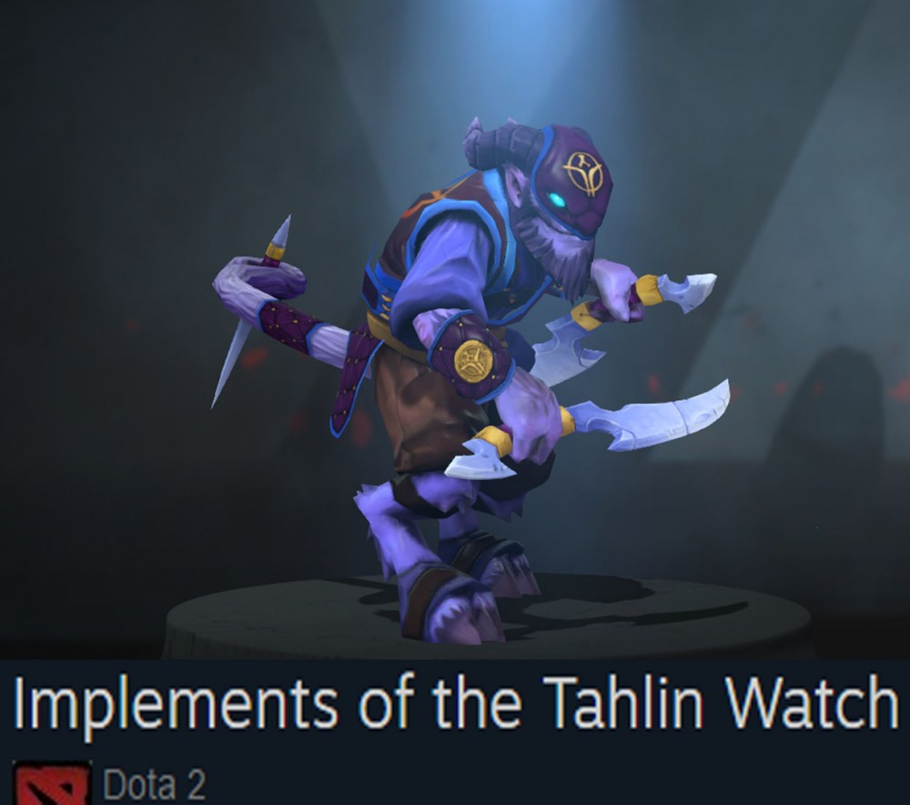 Implements of the Tahlin Watch (Riki Set)
