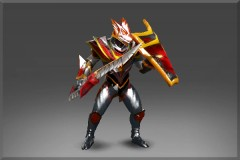 Enchanted Plate of the Crimson Wyvern (Dragon Knight Set)