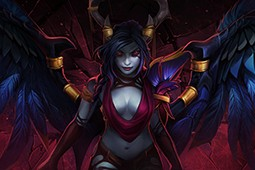 Raiments of Twilight Shade (Queen of Pain Set)