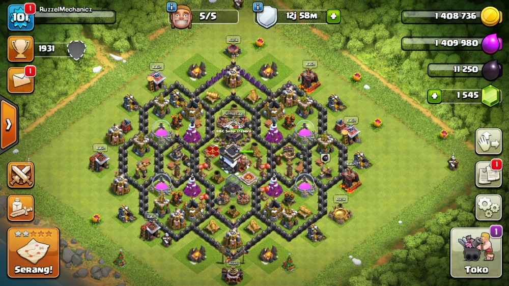 TH9 BUILDER 5, gems bejibun