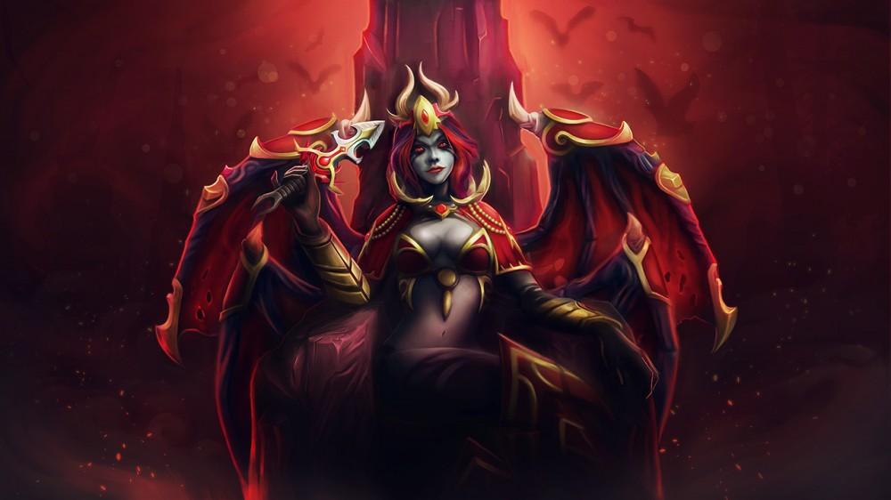Sanguine Royalty (Queen of Pain Set)