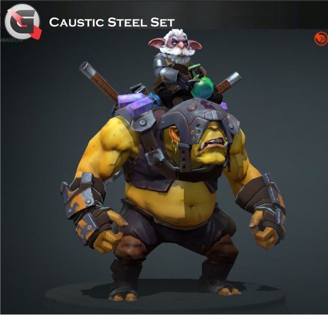 Caustic Steel (Alchemist Set)
