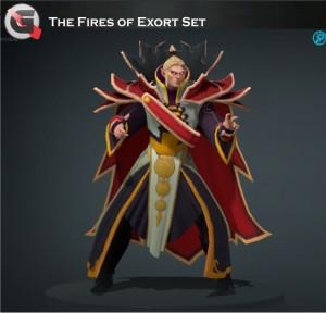 The Fires Of Exort (Invoker Set)