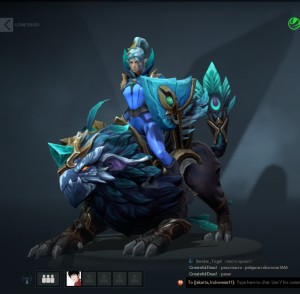 Spirit of the Emeraldine Rider (Luna Set)